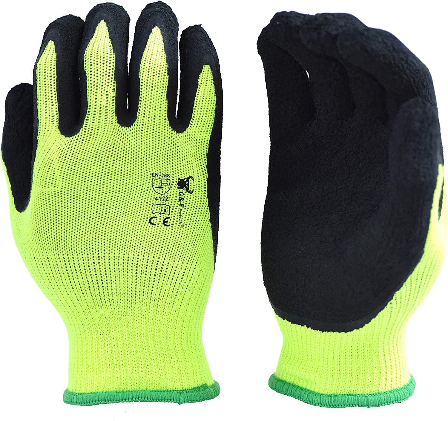 1516 Max 41% OFF 6 Pairs Pack Premium High Wo Visibility emissions Low Green Choice