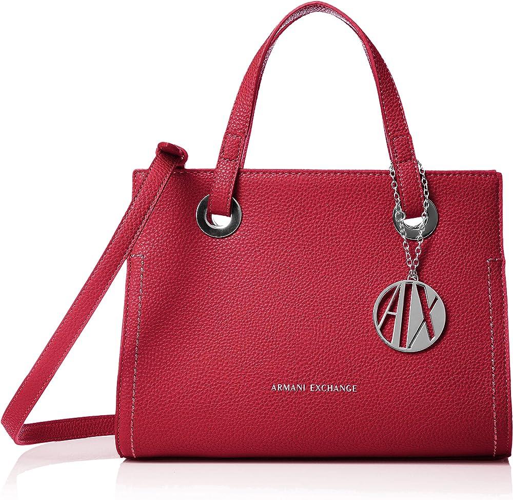 Armani exchange,borsa per donna,in in ecopelle martellata 942270