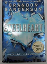 SIGNED! First Edition Hardcover Steelheart (The Reckoners) by Brandon Sanderson