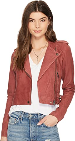 Lucky Brand - Washed Moto Jacket