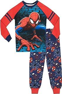 Spiderman - Ensemble De Pyjamas Bien Ajusté - l'homme Araignée - Garçon