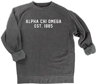 alpha chi omega comfort colors