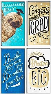 حامل نقود أو حامل بطاقات هدايا من Hallmark Graduation أو مجموعة متنوعة من بطاقات الهدايا ، Dream Big (4 بطاقات مع ظرف)