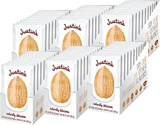 Justin's Classic Peanut Butter Squeeze Packs, Only Two Ingredients, Gluten-free, Non-GMO, Responsibly Sourced, (10 Count o...