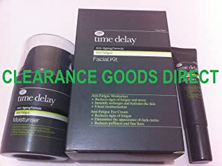 BOOTS TIME DELAY ANTI-AGEING FORMULA ANTI-FATIGUE FACIAL KIT