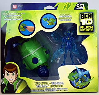 Ben 10 Alien Force - Big Chill and Creature