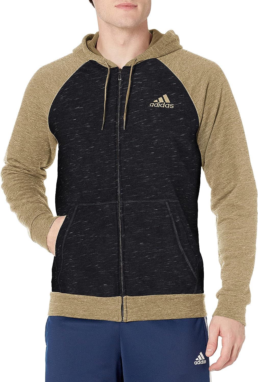 adidas Men's Essentials Full-Zip Hoodie