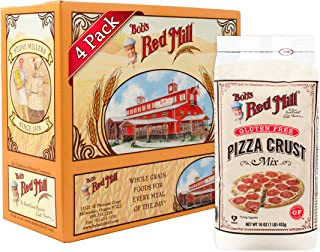 Bob's Red Mill Gluten Free Pizza Crust Mix, 16-ounce (Pack of 4)