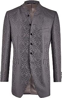 Wilvorst Gil wedding suit jacket, anthracite, brilliant brocade, slimline