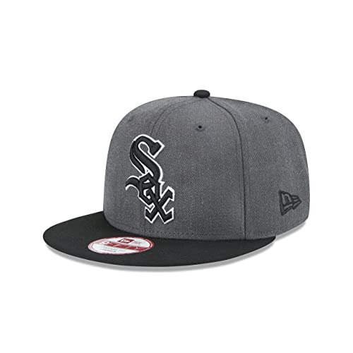 outlet store 1f204 c4ce3 New Era MLB Heather Graphite 9FIFTY Snapback Cap