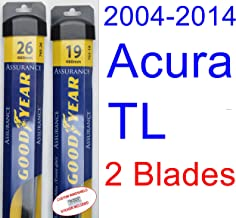 Best 2010 acura tl wiper blade size Reviews