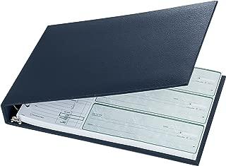 checkbook size notebook