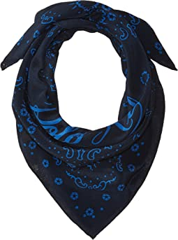 Washed Silk Bandana Scarf