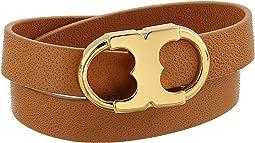 Tory Burch - Gemini Link Double-Wrap Bracelet