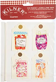 Kilner Pantry Tags Set, Multicolor 13 Piece 01739