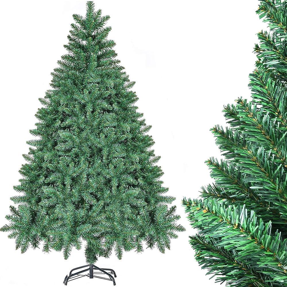 Chortau albero di natale 180 cm, 800tips albero di natale decorazioni natalizie CHORTAU