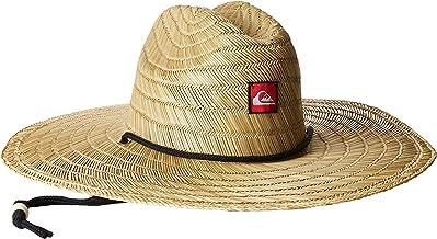 Quiksilver Men's Pierside Straw Lifeguard Beach Sun Straw Hat