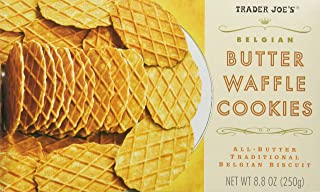 Trader Joe's Belgian Butter Waffle Cookie Crisps - 2 Pack