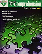 Newmark Learning NL1303 Common Core Comprehension Reproducible Book, Grade 6, 0.38
