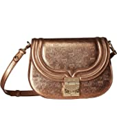 MCM - Trisha Monogrammed Leather Shoulder Small
