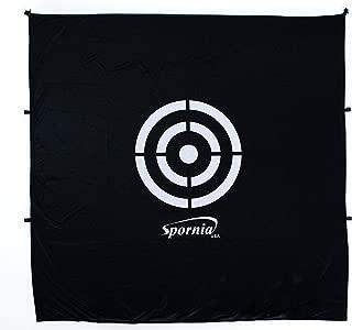 Spornia Golf Net Target (5 feet x 5 feet)   Circle Backstop Target   Training Aid, Driving Range Target