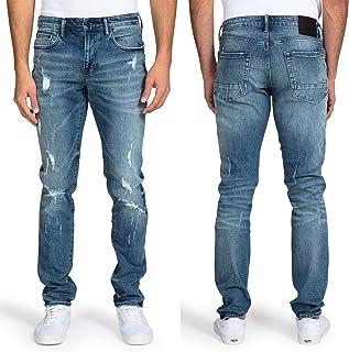 Sponsored Ad - PRPS Goods & Co. Ripped Skinny Jeans for Men – Stretch Slim Fit Denim Pants