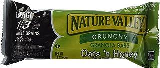 Nature Valley Crunchy Granola Bars Oats 'N Honey, 98-Count (Net Wt 4lb 9.01oz)