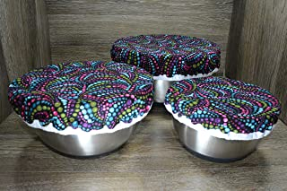 beaded bowl covers