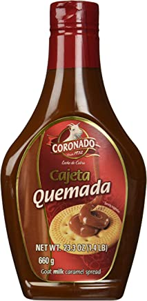 CORONADO Dulce de Leche Caramel Topping 23.3oz (Caramel)