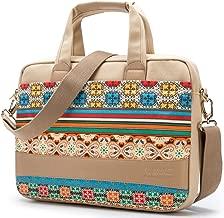 Kinmac Bohemian-Beige Waterproof Laptop Shoulder Messenger Bag for MacBook Air 13