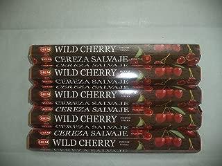 HEM Wild Cherry 100 Incense Sticks (5 x 20 stick packs)