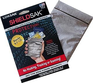 LOKSAK ShieldSak RF Pouch Scanning Protection for Phones Passports 4.5