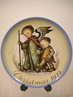 The Guardian Angel 1974 Berta Hummel Christmas Plate