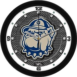 SunTime Georgetown Hoyas - Carbon Fiber Textured Wall Clock