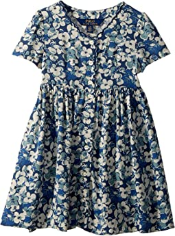 Floral Button-Front Dress (Toddler)