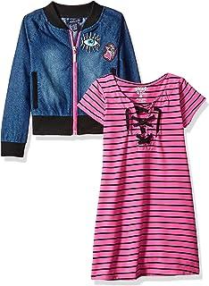 فستان للفتيات من Limited Too مع سترة أو جاكيت (يتوفر المزيد من الأنماط)