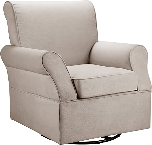 Baby Relax Swivel Glider Comet Doe Color White