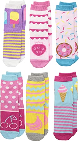 Sweet Treats Crew 6-Pack (Toddler/Little Kid/Big Kid)