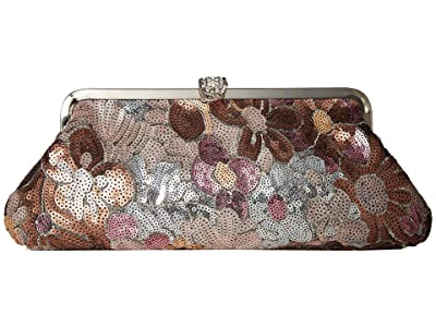 Jessica McClintock Elizabeth Clutch (Floral Sequence) Clutch Handbags
