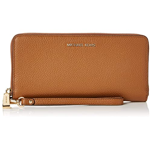 34a4b535d1a Michael Kors Women's Mercer Leather Continental Wristlet Wallet