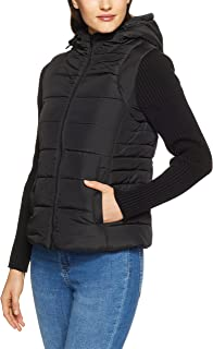 French Connection Women's Knit Sleeve Puffer Jacket