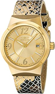 Invicta Women's 17296 Angel Analog Display Japanese Quartz Gold Watch