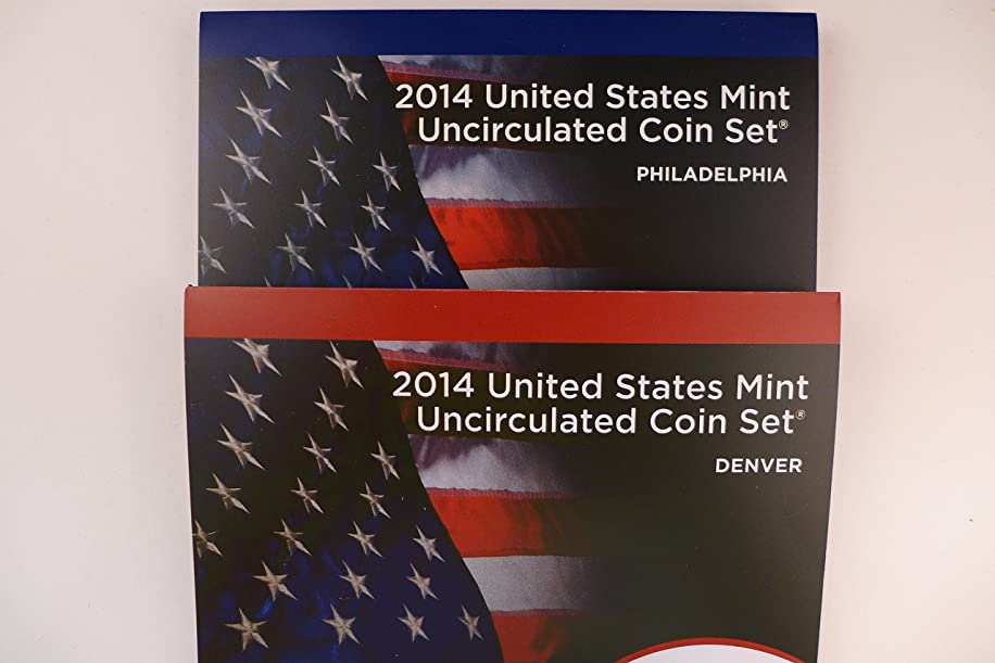2014 Mint Set P and D Mint Uncirculated Coins