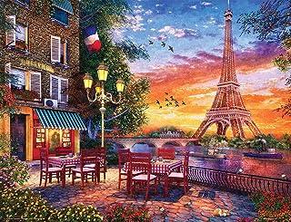 Springbok 500 Piece Jigsaw Puzzle Paris Romance - Made in USA