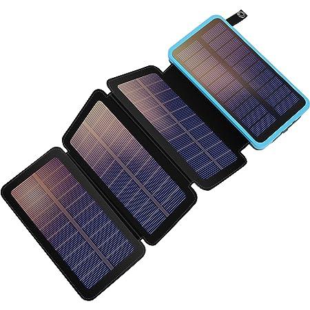 Addtop Solar Powerbank 25000mah Solar Ladegerät Mit 2 Elektronik