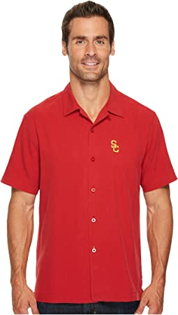 Tommy Bahama - USC Trojans Collegiate Series Catalina Twill Shirt