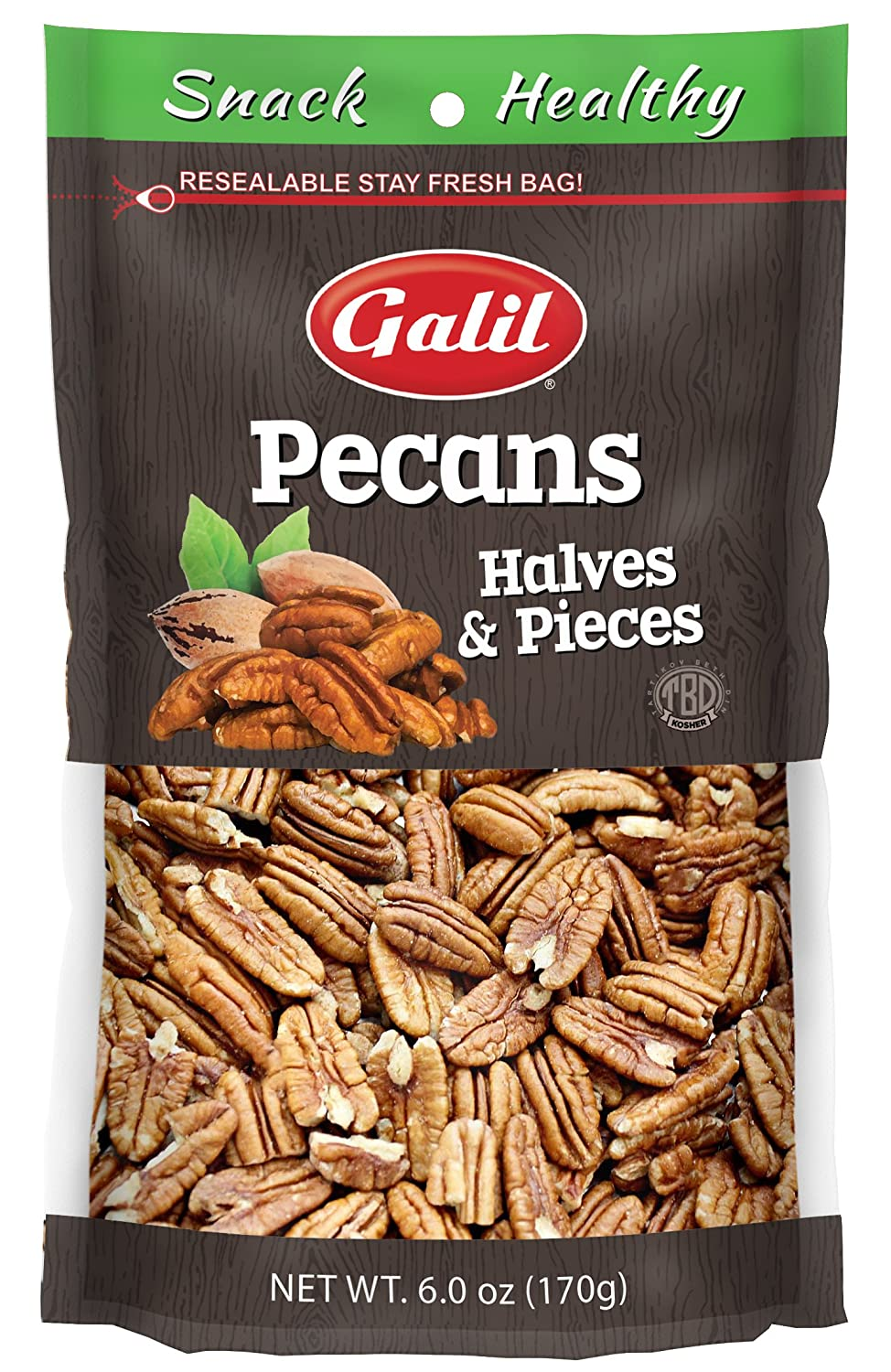 Galil ! Super beauty product restock quality top! Raw Chicago Mall Pecan Halves 4.5 Ounce
