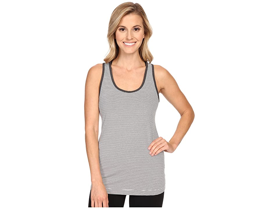 Lole Twist Tank Top (White Stripe) Women's Sleeveless