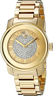 Movado Women's 3600255 Bold Gold-Tone Watch
