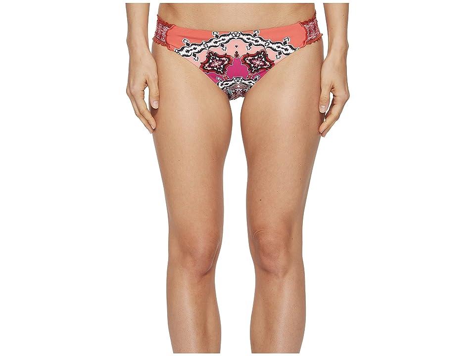 Laundry by Shelli Segal Mystic Tiles Bikini Bottom (Spice) Women